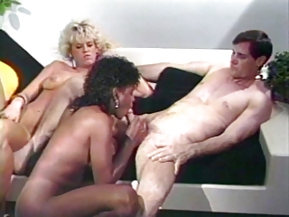 Lucky Guy Fucks Amber Lynn & Angel Kelly