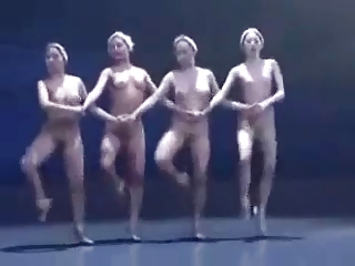 Erotic Dance Performance 13 - Naked Swan Lake