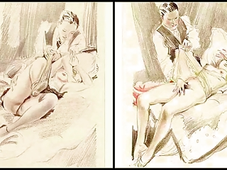 Erotic Watercolors of Feodor Rojankowsky