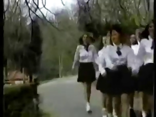 Vintage Schoolgirls Fun.