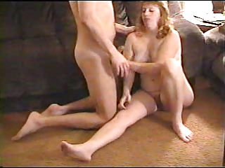 Old vhs video Wife gets Sprayed with CUM!