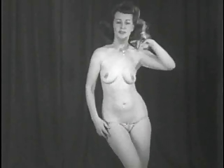 Vintage Stripper Film - Follies Bergere