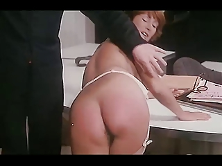 Spanking, girl on girl, BJ: classic French clip has it all